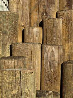 Wooden Poles With Texture Free Stock Photo - Libreshot