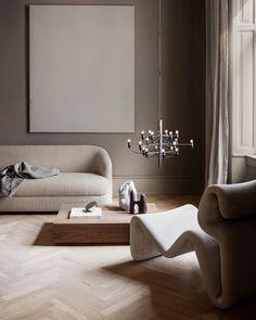 Flos 2097 / 18 Pendant Light - Small - by Gino Sarfatti Design 3d, Home Design, Home Interior Design, Interior Architecture, Interior Colors, Interior Styling, Living Room Designs, Living Room Decor, Living Spaces