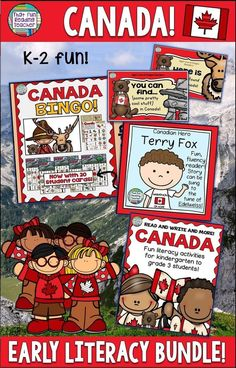 Years ago, I was looking for literacy links for young students to Canada, and created these activities. With Canada's 150 coming up, they are getting more use than ever before!