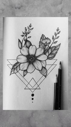 Ideas for Tattoo Butterfly Sketch Pencil Drawings - Ideas for Ta . Mini Drawings, Art Drawings Sketches Simple, Pencil Art Drawings, Easy Drawings, Doodle Art Drawing, Small Canvas Art, Floral Drawing, Sketchbook Drawings, Butterfly Sketch