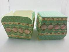 Square Baking Cups Baking Cups, Decorative Boxes, Container, Candy, Unique Jewelry, Handmade Gifts, Vintage, Etsy, Kid Craft Gifts