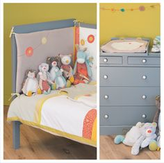 Chambre Ardoise + collection Biscotte & Pompon  #MoulinRoty