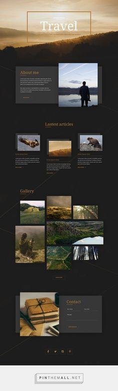 Travel Web Design | Fivestar Branding – Design and Branding Agency & Inspiration Gallery