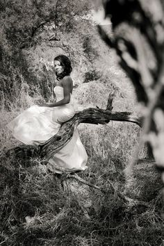 A Trash the Dress photo session with Justine Miller