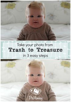 Learn how to rescue your photo by adjusting your exposure in this video tutorial. Start turning your throw-out photos into treasures with PicMonkey.