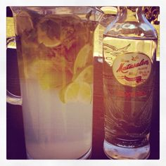 My recipe for Miami Cuban Mohitos...so easy!   Cuban matusalem rum.  Sprite/Sierra mist Lime juice Limes Mint Top off with club soda  Make sure to muddle the lines and mint together!   Mango rum is really tasty too!