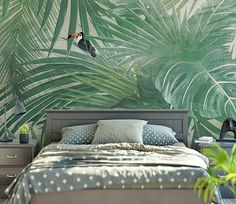 Tropical Houses, Outdoor Furniture, Outdoor Decor, My Room, Comforters, New Homes, Blanket, Bed, Interior