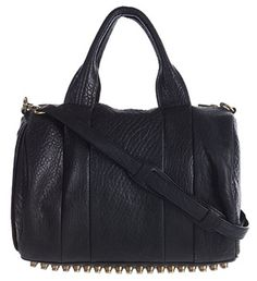 Alexander Wang - Rocco Satchel with oversized brass studs.  Still need this in my life.