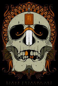 ILLUSTRATION for AIVARAS LEE (Tattoo Artist)https://www.facebook.com/Aivaras.Lee?hc_location=time..© Vidar Extreme Art - design & illustration