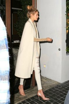 """ Gigi Hadid leaving the Monica Rose x Sarah Chloe: Chloe Jewelry Launch in Los Angeles (11/19/2015) """
