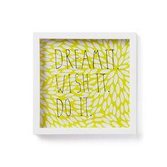 Umbra Motto Muurdecoratie - Dream it