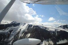 Pitztaler Gletscherwelt - Alpenrundflug- ab LOIR / Höfen - Tirol