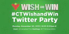 Stuff to do with your kids in Kitchener Waterloo: Canadian Tire #CTWishandWin Contest, #TwitterParty And Gift Guides
