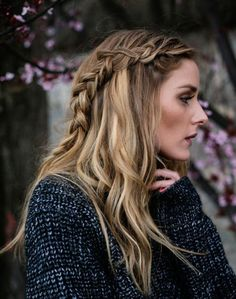 Olivia Palermo's loose braid & other easy braids to try!