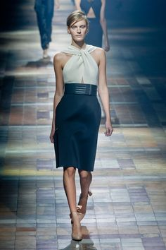 Défilé Lanvin, prêt-à-porter printemps-été 2014, Paris. #PFW #fashionweek #runway