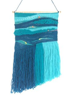 Wall Weaving Hand Woven Wall Hanging Wall Tapestries by KnitWoven