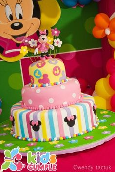 Cumpleaños Minnie Mouse Birthday Party