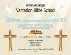 Vbs certificate templatesencephalos encephalos church vacation bible school flyer template yadclub Images