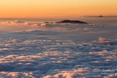 Drifting in a Sea of Clouds  Being above the clouds at sunset is such a unique experience for me.  I found a spot on the old volcano summit of Haleakala and watched this scene unfold.  Being on these islands really does bring you closer to nature and the Earth.  ___________________________________  Canon 6D EF 16-35mm f/2.8 II USM  Prints available for purchase check my bio!