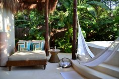 Your private terrace at Viceroy Riviera Maya