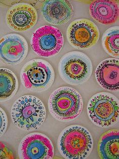 Tales from the Traveling Art Teacher!: Celebrating International Dot Day! …