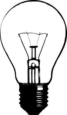 lightbulb stencil - Google Search