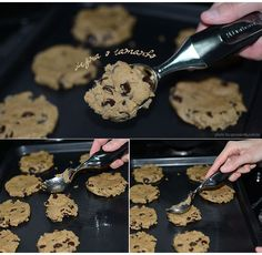 Do It Yourself | Cookies com gotas de chocolate – receita americana