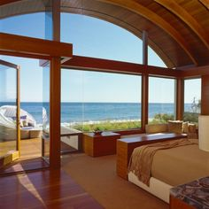 20 Master Bedrooms with Breathtaking Ocean View, omg i need this..
