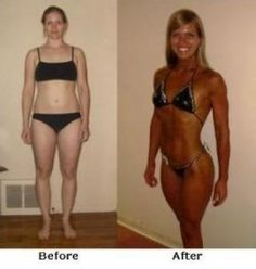 Figure competition over 40 with example diet plan.