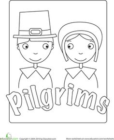 Thanksgiving Coloring: 15 Pages for Little Turkeys   Education.com