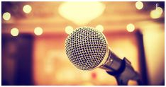 how to improve public speaking skills? Karaoke, Improv Comedy, Effective Presentation, Presentation Skills, Public Speaking Tips, Starting A Podcast, Concert Hall, Social Media, Stock Photos