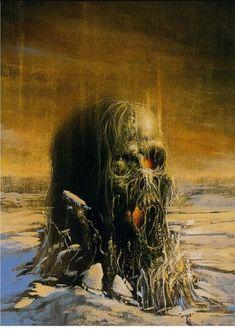 Horror Art by Bob Eggleton