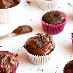 Bite into this decadent cupcakes for a decadent sweet treat with a secret ingredient!