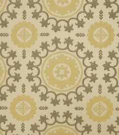 Upholstery Fabric-Eaton Square Sudan-Chrome Medallion, , hi-res