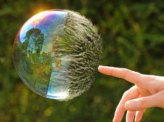 a bubble mid pop, this might just be one of coolest pictures I've ever seen.