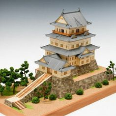 Architecture Concept Drawings, Minecraft Architecture, Japanese Architecture, Japanese Castle, Japanese House, Japanese Art, Chinese Buildings, Asian House, The Sims