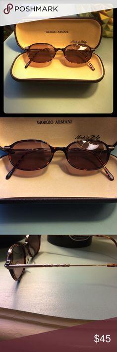 0c1349adb15 Giorgio Armani Sunglasses Giorgio Armani Sunglasses-Cute Tortoise and Gold  Frames- Authentic- Purchased