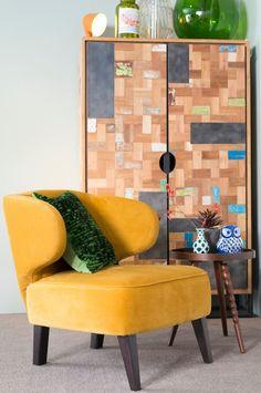 Vintage Stijl Studio | Stoel Jamac | Henders & Hazel | #Eijerkamp #wooninspiratie #woontrends #interieur