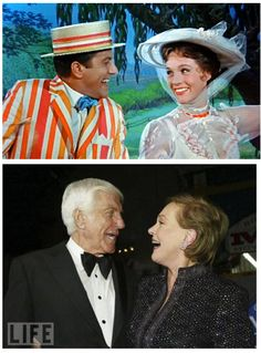 "Mary Poppins & Bert ""I LOVE THEM!"" -@Jeree Anderson"
