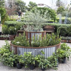 Garden bed is a low-maintenance way to grow vegetables, fruits and plants in your garden. There are many raised garden bed ideas, but I chose 18 round garden bed ideas with recycled items because of its beauty and convenience. Raised Vegetable Gardens, Home Vegetable Garden, Veggie Gardens, Diy Garden Bed, Backyard Garden Design, Garden Tips, Backyard Ideas, Building A Raised Garden, Raised Garden Beds