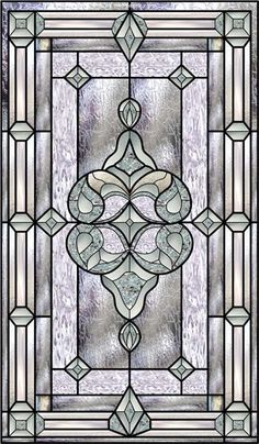 Decorative Window Film Stained Glass Rubinaccio J