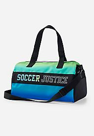 125a5bdcd81f ... Large Turquoise Dance Ballet Tap Kit Holdall Sports ...