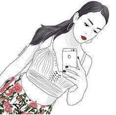 Selfie, Anime, Art, Art Background, Kunst, Cartoon Movies, Anime Music, Performing Arts, Animation