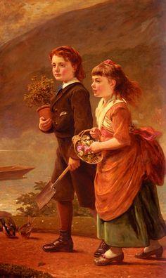 James Sant the children of major h. barrett of moredon, taunton.jpg