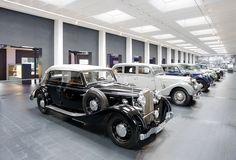 Museum für historische Maybach-Fahrzeuge: Ausstellung in Neumarkt, #car #german