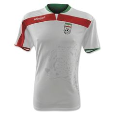 iran world cup home shirt Buy World Cup Soccer Jerseys: Official Shirts From All Countries Playing In Brazil Iran National Football Team, Iran Football, World Cup Shirts, World Cup Jerseys, Brazil World Cup, World Cup 2014, Iran World Cup, Fifa, Soccer City