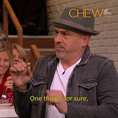 A twist on Thanksgiving? Yes, please! Count down to Thanksgiving with #TheChew Weekdays at 1e|12c|p!