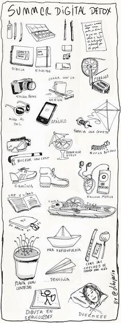 Desintoxicación digital > Tips para desengancharte #infografia (repinned by @ricardollera)