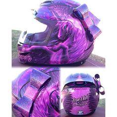 Motorcycle Helmet Bows – The Lucky Yogi Original Motorradhelmschleife von Lucky Motorcycle Helmet Camera, Custom Motorcycle Helmets, Custom Helmets, Racing Helmets, Motorcycle Babe, Biker Helmets, Helmet Accessories, Motorcycle Accessories, Karting