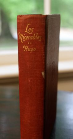 pocket sized vintage 1947 copy of Les Miserables book (no.1),on Etsy. $9.